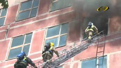 Photo of Бендерские огнеборцы помогали тушить пожар в столице