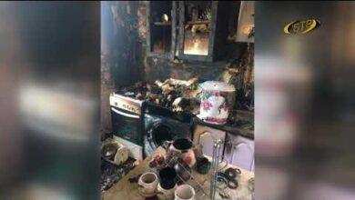 Photo of Пока была в магазине – сгорела кухня