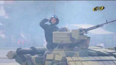 Photo of Стоит на страже Родины солдат