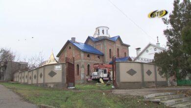 Photo of Скоро Покровский храм увенчают купол и крест