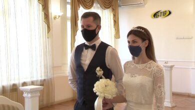 Photo of Маски свадьбе не помеха